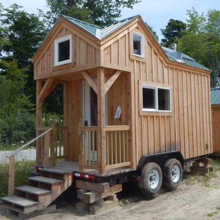 Tiny House On Wheels Ten Factorial Rocks